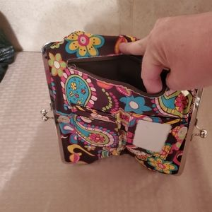 Large wallet with pretty pattern and colors